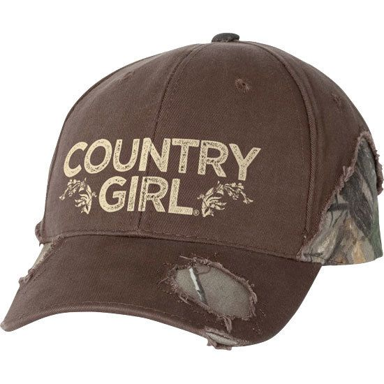 Our frayed camo hat features the frayed, distressed style and a pre-curved visor. The cap has sewn eyelets and velcro closure. One size fits most.