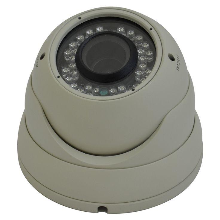 Avemia Night Vision Weather Proof Vari-Focal Dome Camera-Beige – ResellerHub.store