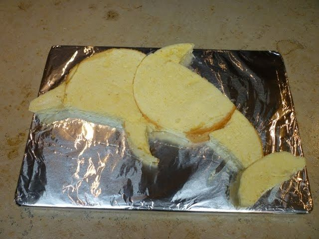 how to make fondant dolphin