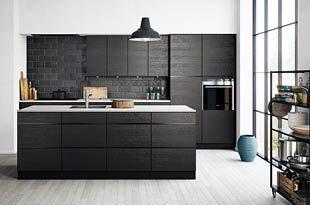 Mano Sera - Een zwarte, stoere en strakke keuken - Kvik.nl