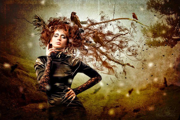 Lady Raven on Behance