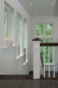 newel post  Muskoka Cottage - contemporary - staircase - toronto - Belinda Albo Design Studio