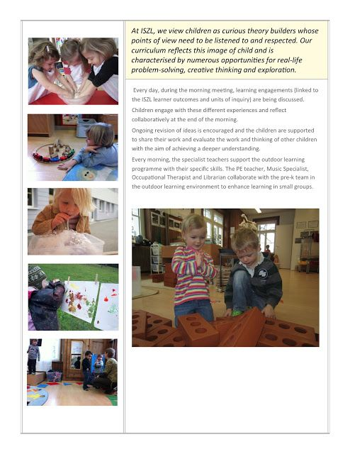Early Learning at ISZL: Play at ISZL