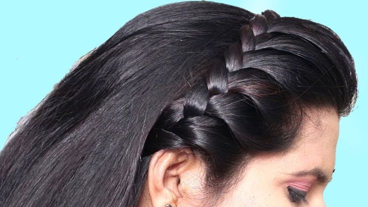 Easy Quick hairstyles for Teenage/College Girls | hair style girl | Beautiful party hairstyle... - #beautiful #college #girls #hairstyles #qui