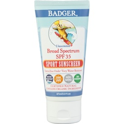 Badger Balm sunscreen... I've been reading great things about this! Definitely trying it!