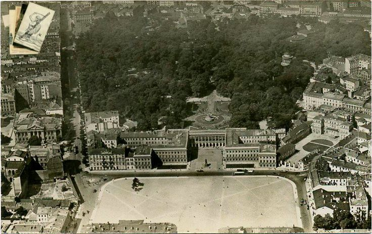 Warsaw, Poland, the former Saxon Palace