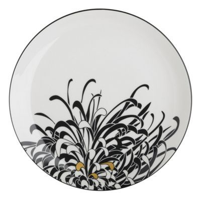 Denby Monsoon Chrysanthemum salad plate- at Debenhams.com