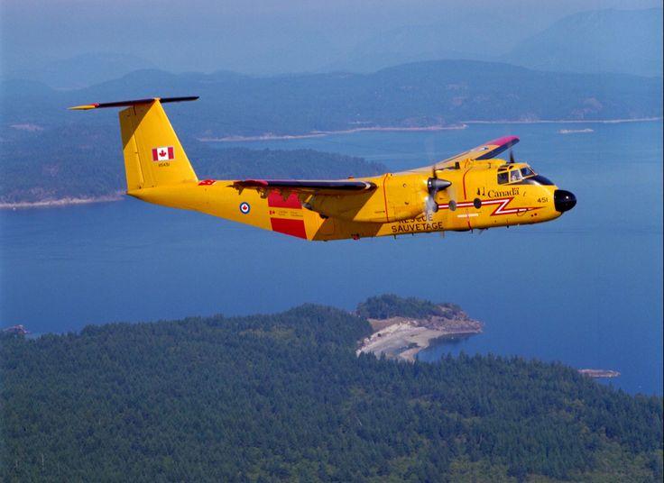 Royal Canadian Air Force de Havilland Canada CC-115 Buffalo, transport search rescue aircraft.
