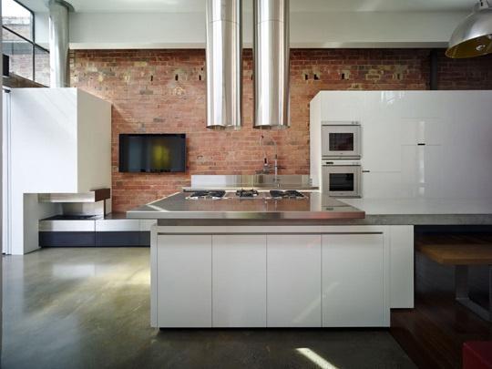 Cylinder rangehood  --  Round Up: Kitchen Rangehoods    Melbourne