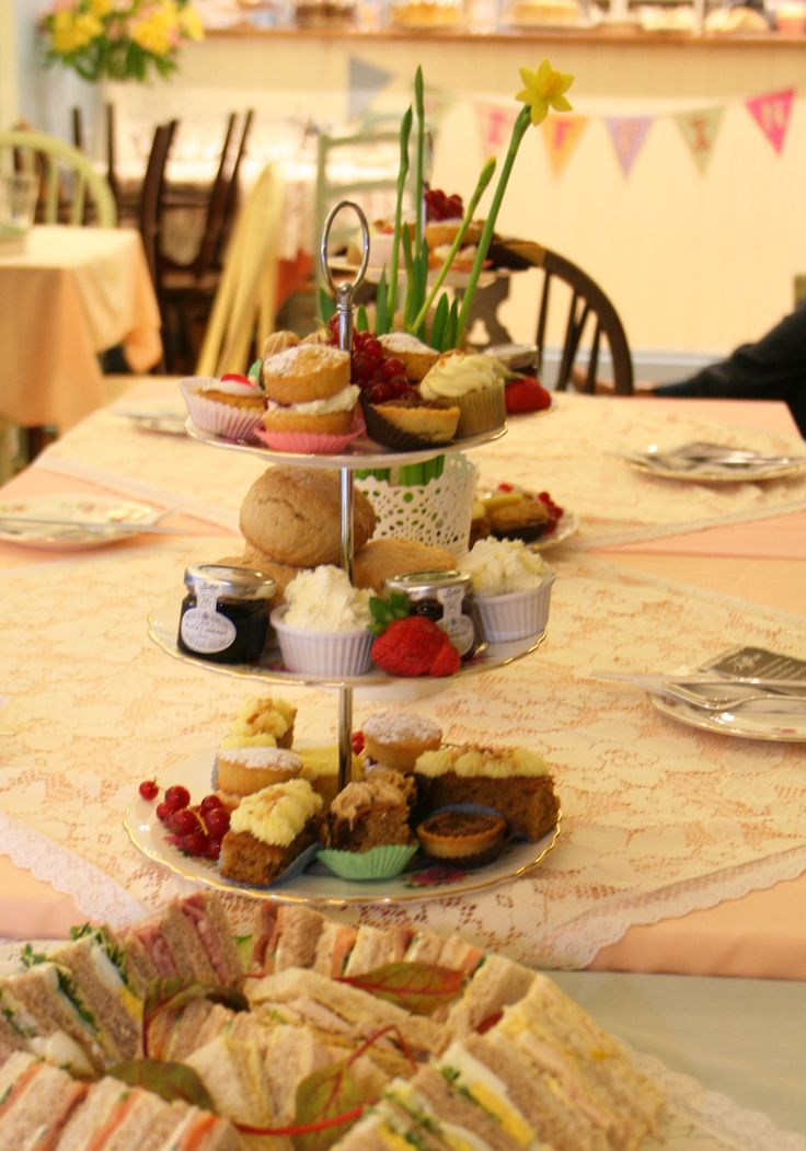 Afternoon Tea at Tiffin www.tiffin-teahouse.co.uk