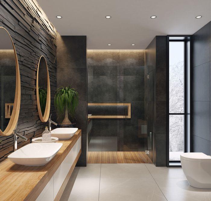 Elegancki Loft W Przytulnej Odslonie Leroy Merlin Modern Bathroom Bathroom Decor Luxury Luxury Bathroom