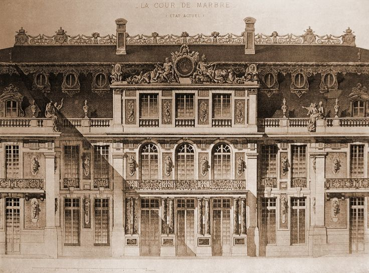 versailles elevation - Google Search