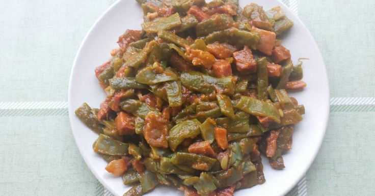 Fabulosa receta para Judías verdes salteadas.