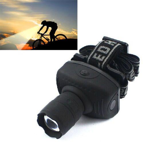 Frontal Lentera Zoomable 600 Lumens LED Headlight Headlamp Senter Kepala Torch Light Untuk Sepeda Untuk Berkemah Berburu Memancing ZK93