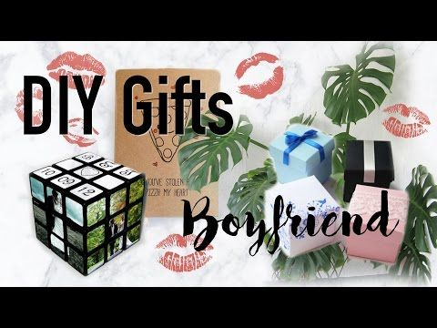 ♡ DIY Gifts for Guys (Boyfriend/Husband/Fiancé/Partner) | Valentine's Day - YouTube