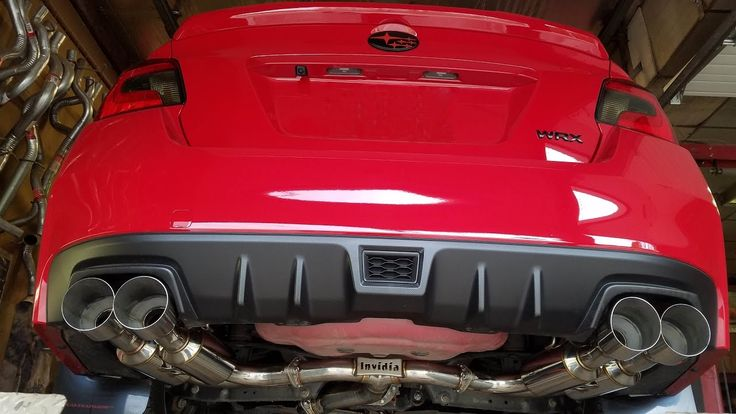 Invidia R400 catback exhaust on my 17 WRX #subaru #wrx #sti #impreza #forester #subie