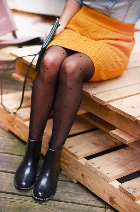 Les collants volent la vedette cet automne: motifs et couleurs tendance + DIY pour les personnaliser                                                                                                                                                                                 Plus