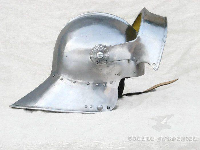 Medieval Helmet Saled 15th Century, Medieval Buhurt Helmet
