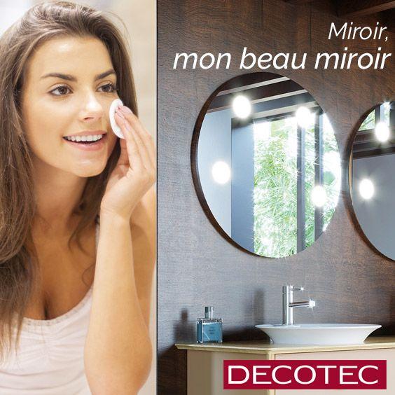 Un Large Choix De Miroirs De Salle De Bains Design Fabrique En France 60 Cm 80 Cm 100 Cm 120 Cm 140 Miroir Salle De Bain Spot Salle De Bain Salle De Bain