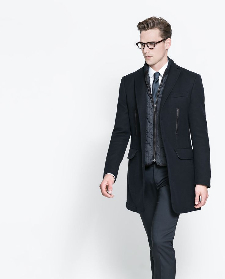 Image 3 of COAT WITH DETACHABLE WAISTCOAT from Zara  Sm