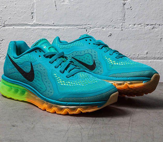 Nike Air Max 2014-Turbo Green-Atomic Mango