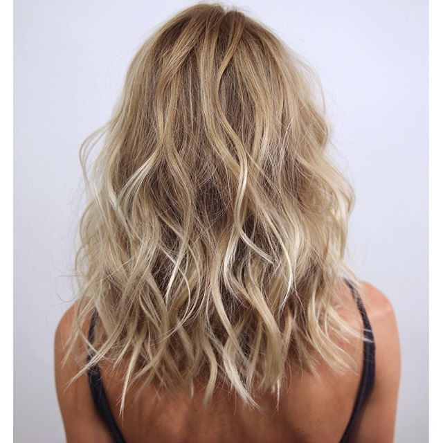 """Lived-In"" Hair Color by Johnny Ramirez - Blonde. Highlights. Lob."