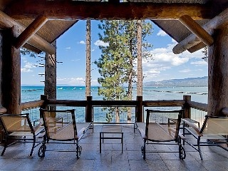 South Lake Tahoe, California.  Breathtaking Lake Front Views - Sierra Shores 4 Bedroom Luxury Townhome