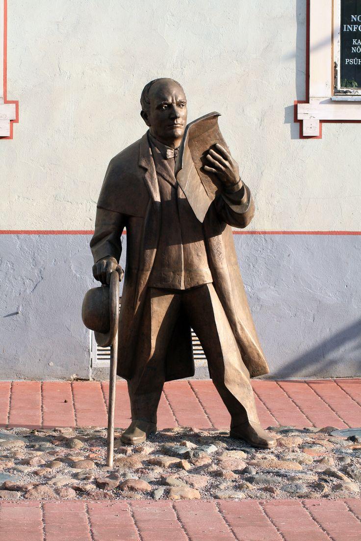J. V. Jannsen sculpture, Pärnu, Estonia