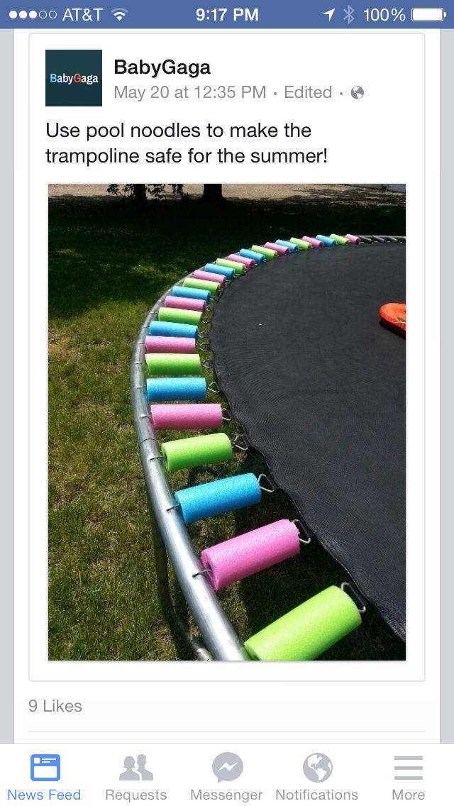 Trampoline spring covers