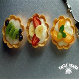 Mini Fruit Cream Cheese Tarts from Eagle Brand® Sweetened Condensed Milk