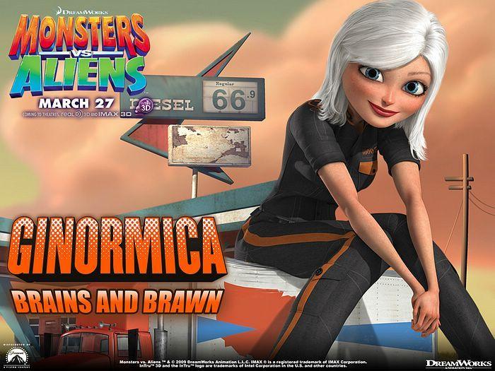 Monsters vs Aliens (2009)  - Animated Movie : Monsters vs Aliens Wallpaper    2