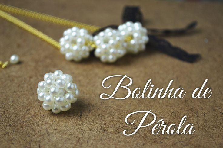 Pearl beaded bead ~ Seed Bead Tutorials