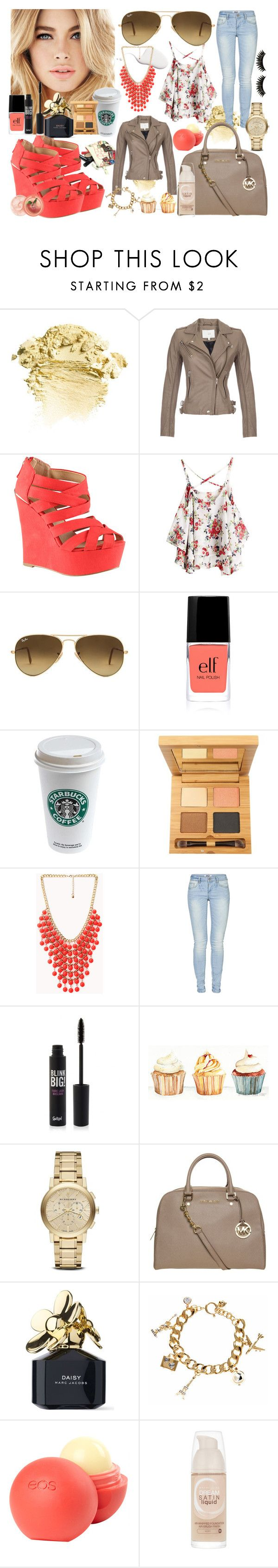 """Summer time*"" by maryterojasf ❤ liked on Polyvore featuring IRO, ALDO, Ray-Ban, Antonym, Forever 21, ONLY, Burberry, MICHAEL Michael Kors, Marc Jacobs and Juicy Couture"
