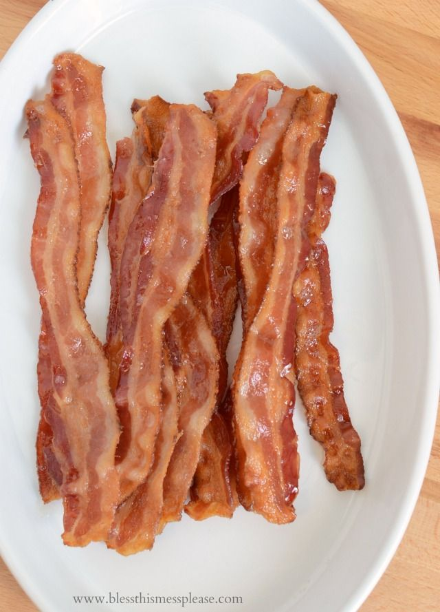 Best 25 oven baked bacon ideas on pinterest cooking bacon with how to bake bacon ccuart Images