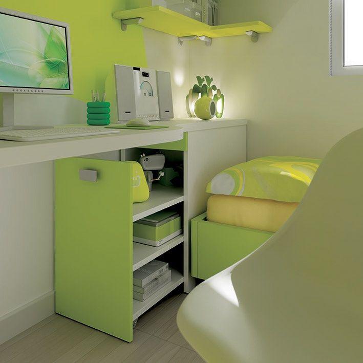 #escritorio #ahorraespacio #sak #lonuevo #funcional #calidad #diseño #mobiliario #verde #design #officespace #desk #workzone #fun #besak #shoparchkids #KC22
