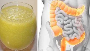 ricetta disintossicante per il colon hai bisogno di:  150 ml di succo di mela biologico 1 cucchiaino di succo di zenzero 2 cucchiai di succo di limone fresco 80 ml d'acqua 1/2 cucchiaino di sale marino