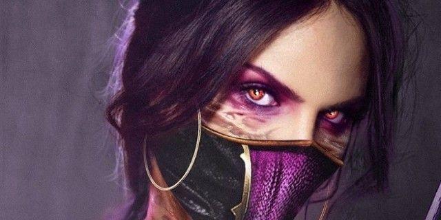 Mortal Kombat Fan Art Imagines Eiza Gonzalez As Mileena Mortal