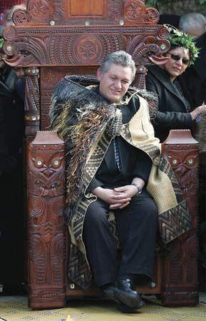 The Maori King, Tuheitia Paki, Te Arikinui Kiingi Tuheitia