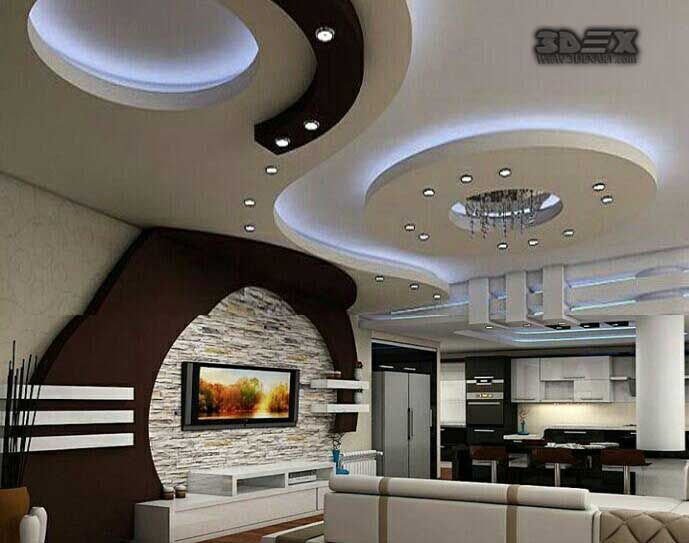 . Pin by                 on          in 2019   Pop false ceiling