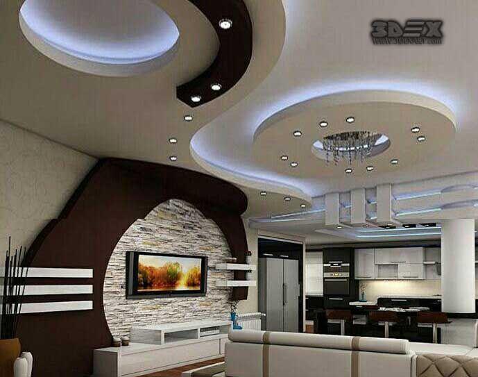 Ceiling Designs For Living Room 2018 Interior Decoration In Nigeria Latest Pop Design Hall 50 False New Catalogue