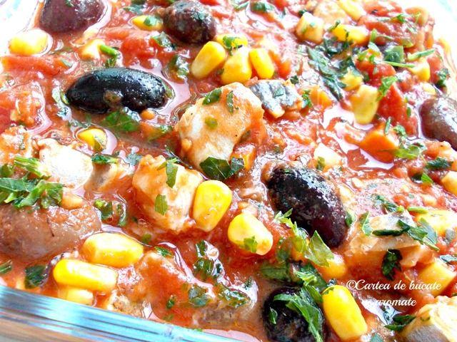 Salată ţigănească cu peşte marinat - Cartea de Bucate Aromate