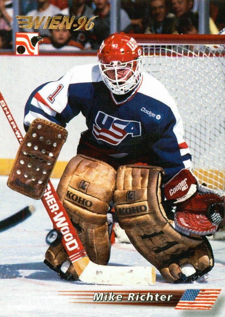 Richter Nhl Hockey Players Usa Hockey Hockey Goalie