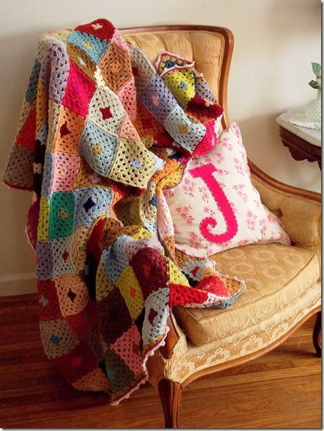 crooked lake cottage blanket