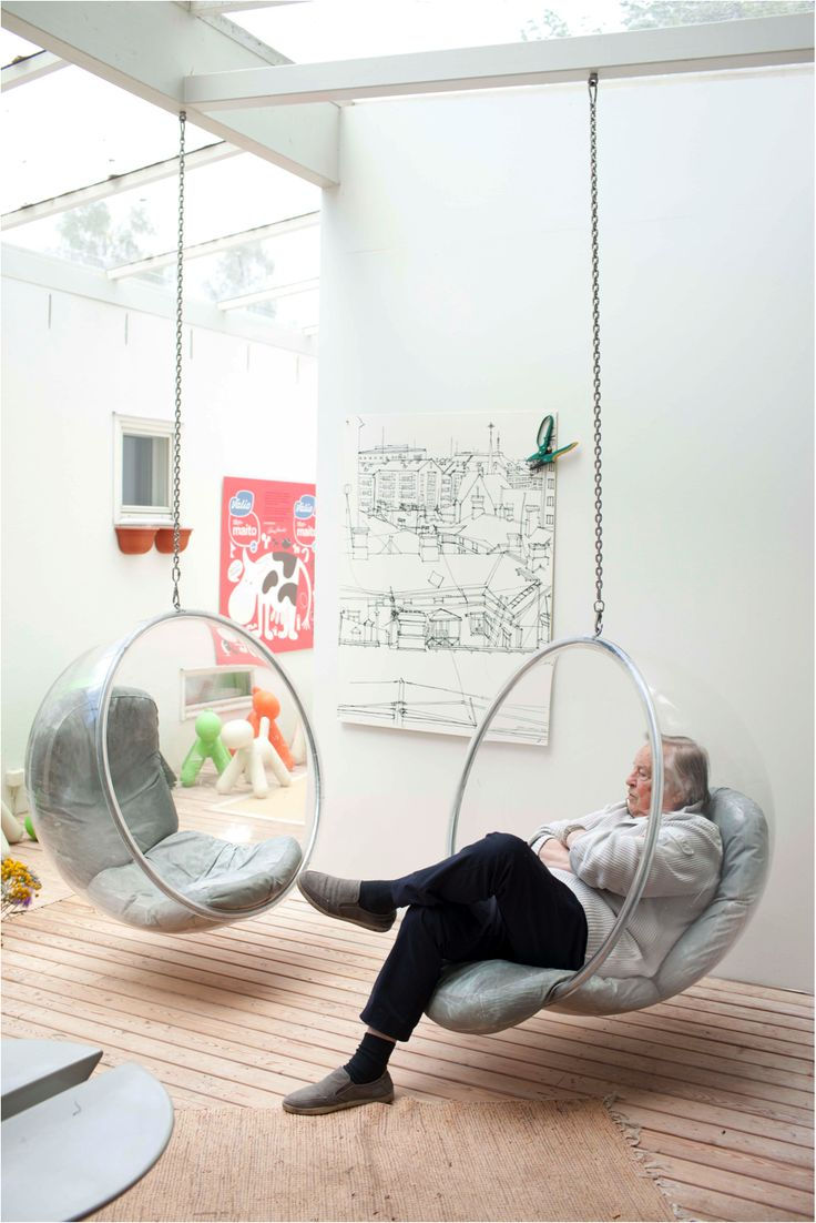 147 best ball chair images on pinterest ball chair bubble chair and loft. Black Bedroom Furniture Sets. Home Design Ideas