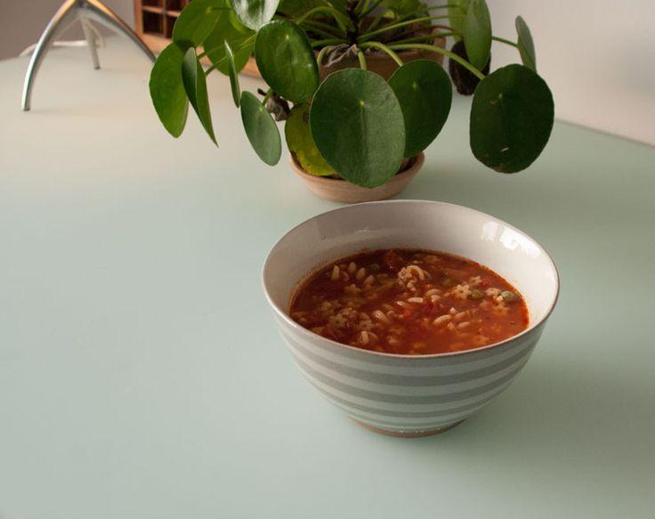 Super hero soup. Minestrone. Vegetable soup.  #superherosoup #housedoctor