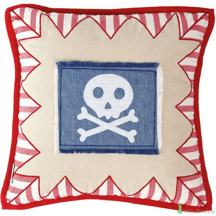 Kussensloop Piraat