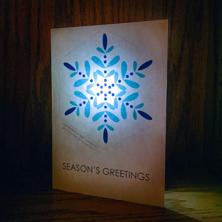 17 Best Images About Light Up Cards On Pinterest