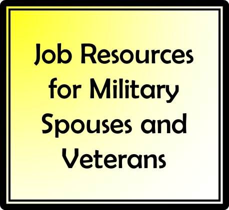 Military Spouse And Veterans Job Resources