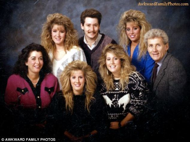 Awkward family photos the 80s edition when disco and the rubiks cube was cool but these pictures certainly werent