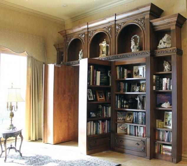 17 Best Images About Secret Doors Hidden Places On